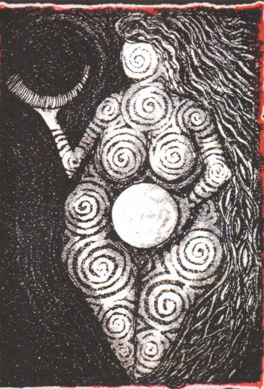 Imagen: Goddess of Laussel, Lisa Aerianna Tayerle