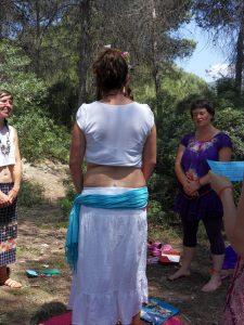 ritual de bienvenida a la primera menstruación