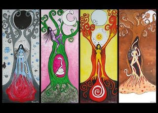 Las cuatro fases del ciclo menstrual