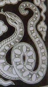 imagen de serpiente para ilustrar el poema de El Cascabel