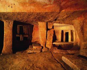 Templo-tumba en Malta
