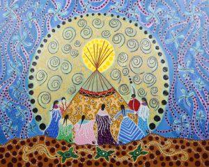 Dancing Women, Leah Dorion