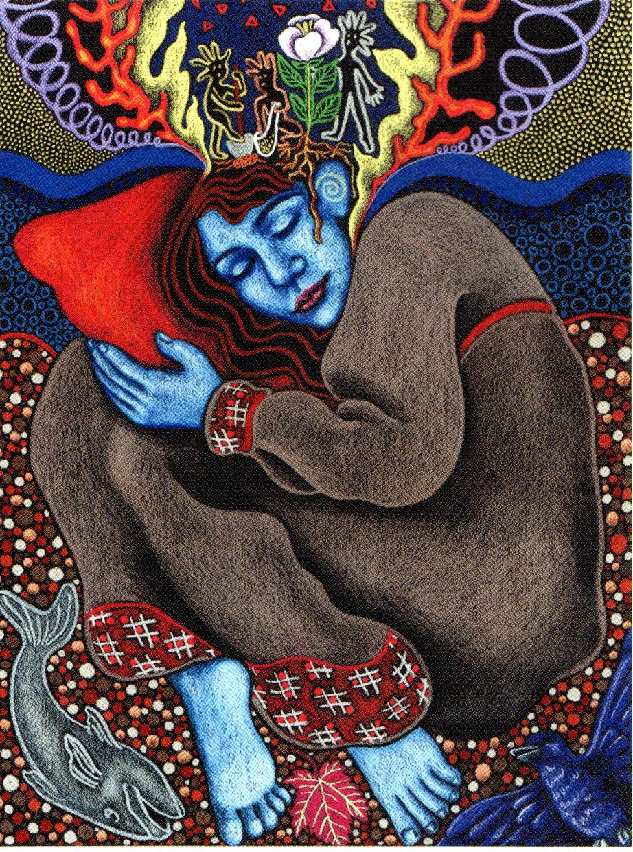 """Imagen: """"Waking up from a Dormant Cycle"""" de Robyn Waters"""