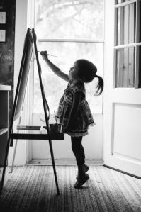 stock-photo-of-little-girl-painting