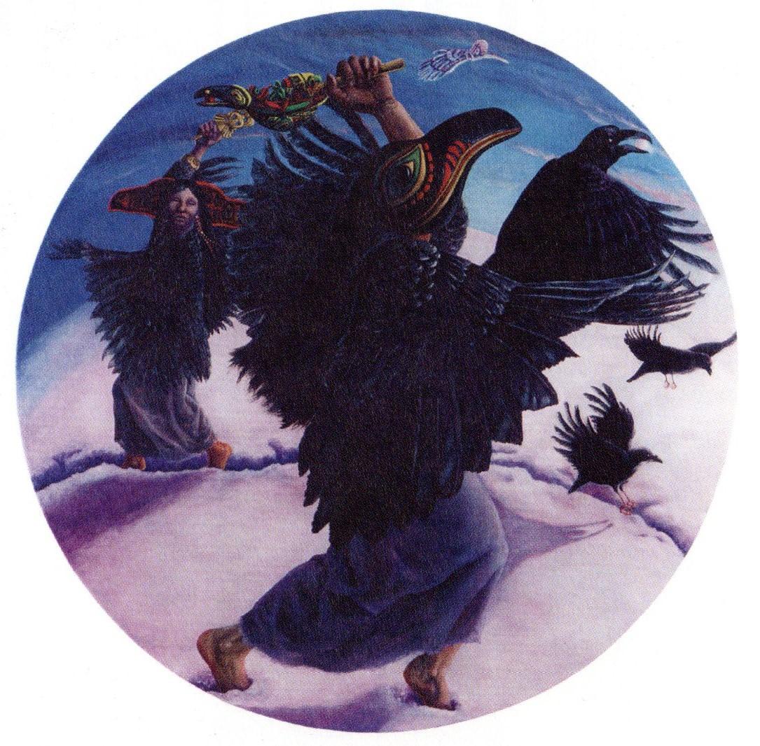 Raven Woman de Sandra Stanton
