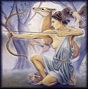 Diosa Artemisa. Hrana Janto