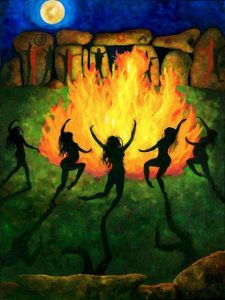 """Fire Dance"" de Julia C. R. Gray"