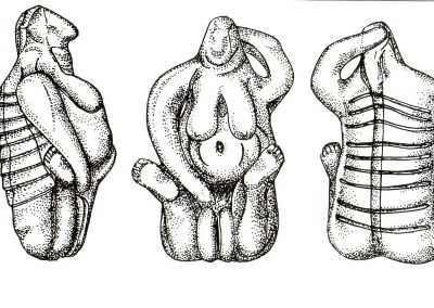 08 1.4 Birth Goddesses, Malta 4000 BC