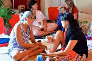 """formación """"El Viaje de la Mujer Cíclica"""""""