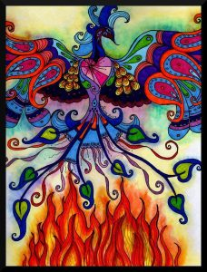 """""""Phoenix Rising from the Ashes of Fear"""". Alisa Manning"""