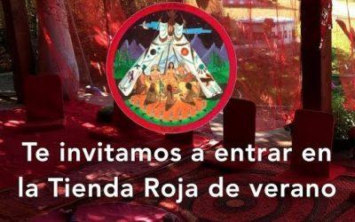 Video: entrar en la Tienda Roja, un lugar ancestral y sanador entre mujeres