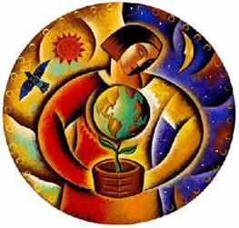 Imagen: Healing Earth - Healing Self. Davi Nikent