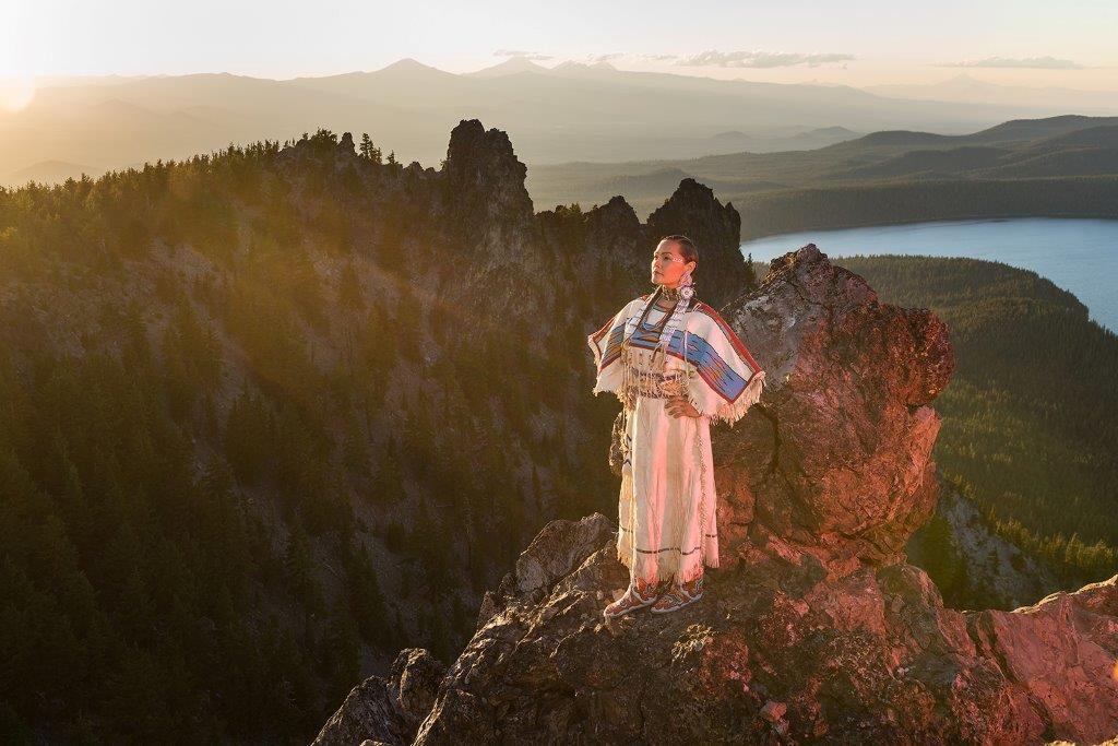 Sacagawea en Oregon, Cascade Centre of Photography