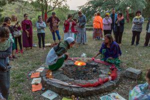 Ritual de solsticio en Uniterra. Autor: Marc Planamugà