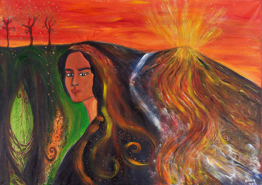 Imagen: Elemental Goddess de Solveig Katrin