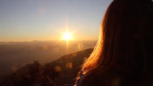 Puesta de sol. Una foto de Nagore Pardo