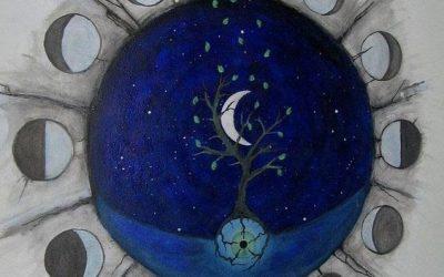 La luna menguante y el arquetipo de la Chamana