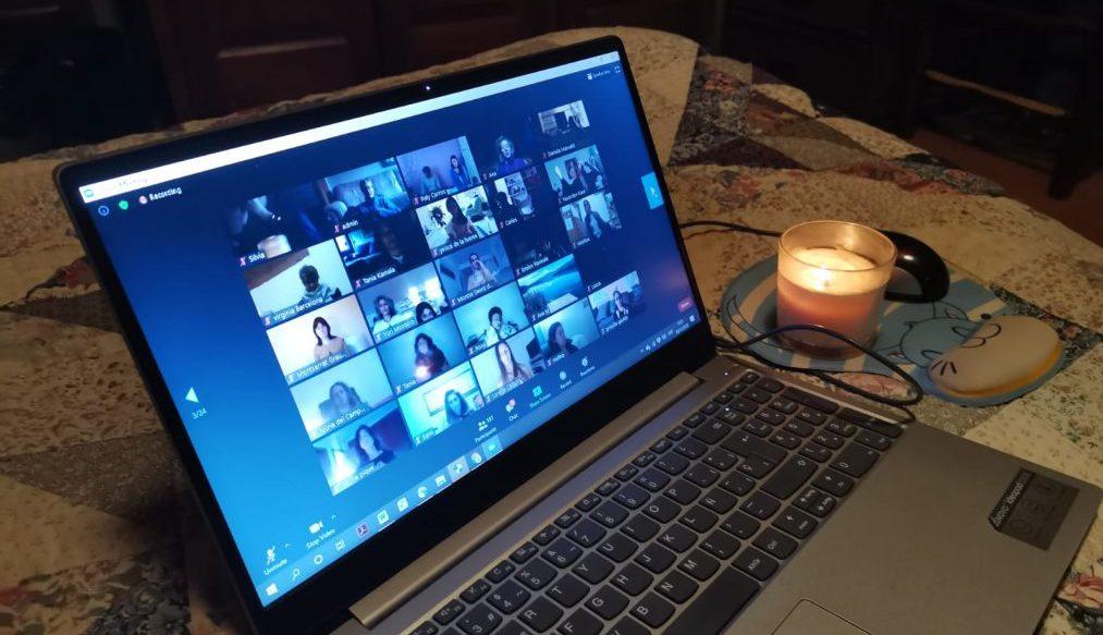 Ritual de solsticio online con Sophia y Gemma