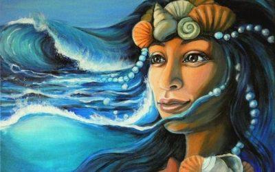 Conoce a Yemayá y celebra la luna llena con ella
